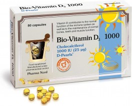 Bio-Vitamin D3 Colecalciferol Capsules 1000iu