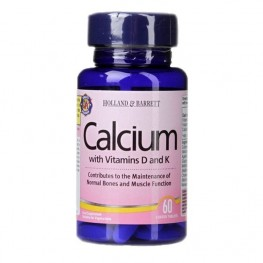 Holland & Barrett Calcium With Vitamins D And K