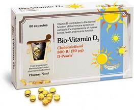 Bio-Vitamin D3 Colecalciferol Capsules 800iu