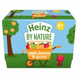 Heinz Apple Banana Apricot 4pk
