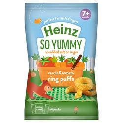 Heinz Carrot & Tomato Veg Ring 4pk