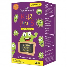 Natures Aid (1-12 Years) Kidz Pro-5 (Daily Microbiotic)
