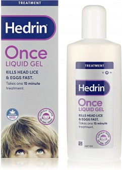Hedrin Once Liquid Gel 4%