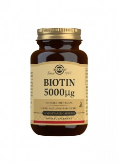 Solgar Biotin 5000 µg