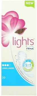 Tena Lights Liners Long