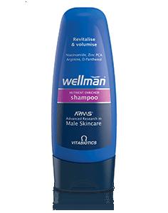 Vitabiotics Wellman Shampoo