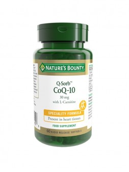 Nature'S Bounty Q-Sorb™ Coq-10 30 MG With L-Carnitine