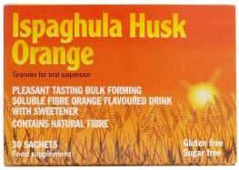 Ispaghula Husk Powder Sachets Orange