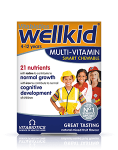 Vitabiotics Wellkid Chewable Tablet