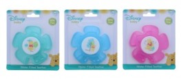 Winnie The Pooh Water Filled Teether Assorted Colours (Pink, Blue, Green)
