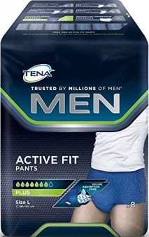 Tena Men Pants Active Fit Large