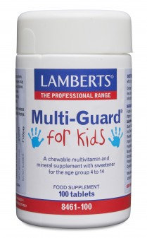 Lamberts Multi-Guard For Kids Aspartame Free