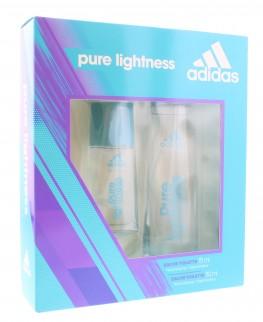 Adidas Pure Lightness Set 2pc (Edt Spray & Edt Spray)