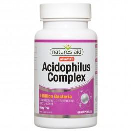 Natures Aid Acidophilus Complex 5 Billion