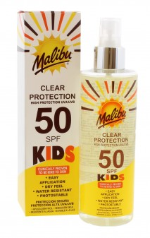 Malibu Spf 50 Kids Clear Protection Spray Pump