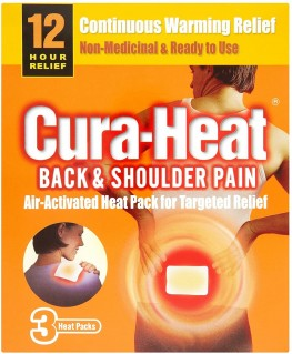 Cura-Heat Back And Shoulder Heatss
