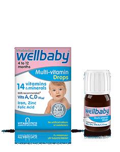 Vitabiotics Wellbaby Drops