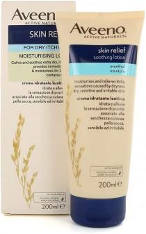 Aveeno Skin Relief Moisturising Lotion Menthol