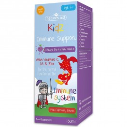 Natures Aid (6-12 Years) Kidz Immune Support
