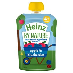 Heinz Apple Blueberry Pouch
