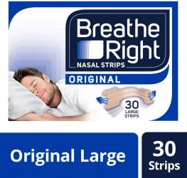 Breathe Right Nasal Strips Natural Large 30s