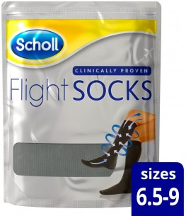 Scholl Flight Socks Size 6.5-9