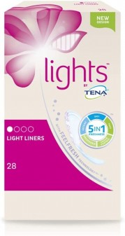 Tena Lights Liners Light