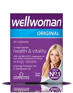 Vitabiotics Wellwoman Vit/Min Cap
