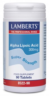 Lamberts Alpha Lipoic Acid 300mg (Thioctic Acid)