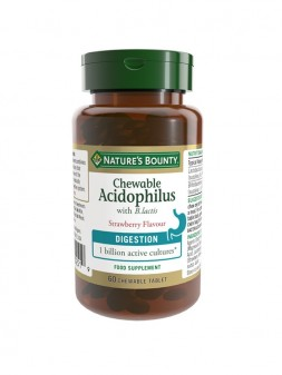 Nature'S Bounty Chewable Acidophilus With B.lactis