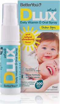 Betteryou Dlux Infant Oral Spray 15ml