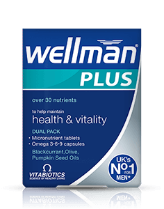 Vitabiotics Wellman Plus Omega 3-6-9 28tabs+28 Caps
