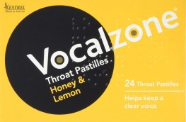 Vocalzone Throat Pastilles Honey & Lemon 24