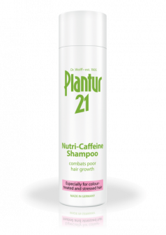 Plantur21 Nutri-Caffeine Shampoo For Coloured And Stressed Hair