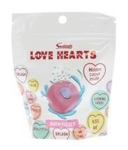 Love Hearts Bath Fizzer Pouch