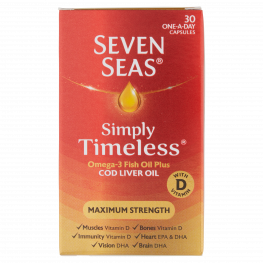 Seven Seas Max Strength Capsules