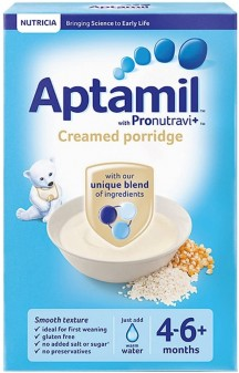 Aptamil Cereals Stage 1 (4+) Creamy Porridge 125g 6