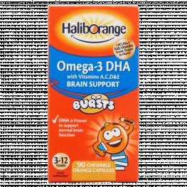 Haliborange Omega 3 Chewy Orange Flavour Capsules