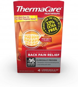 Thermacare Back Heat Wraps