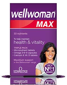 Vitabiotics Wellwoman Max 28caps/28 Tabs/28 Tabs
