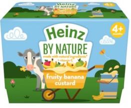 Heinz Banana Custard 4pk
