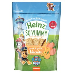 Heinz Eat & Play Peach & Apricot Biscuits