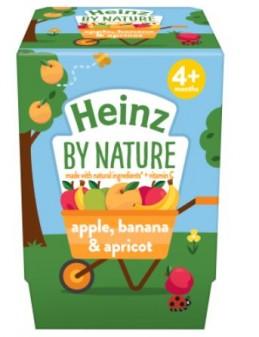 Heinz Apple Banana Apricot 4pk