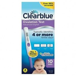 Clearblue Digital Ovulation Test With Dual Hormone Indicator Test 10s