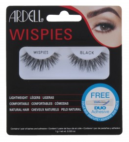 Ardell Wispies Lashes Wispies Black With Duo Glue
