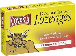 Covonia Cough Lozenges Strong Original 51g