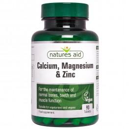 Natures Aid Calcium, Magnesium + Zinc