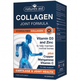 Natures Aid Collagen Joint Formula With Vitamin D3 & Zinc, Plus Copper, Manganese & Vitamin C