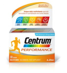 Centrum Performance Tab