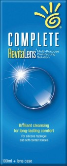 Complete Revitalens Multi Purpose Disinfecting Solution For Contact Lenses